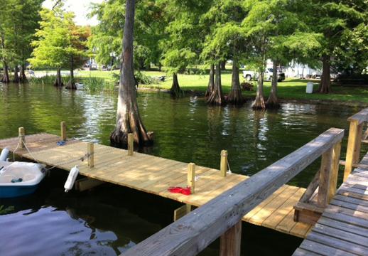 Lake Bruin Rental Camp